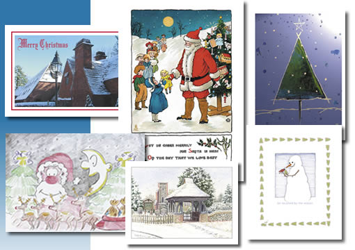 Christmas Cards,  Printing by Silver Pines Services